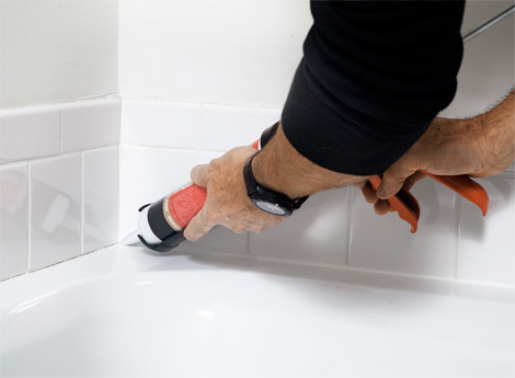 Caulking Seems Like A Relatively Easy Home Project Until You Make An  Enormous Mess Of Your Bathroom Doing It. Hereu0027s How To Caulk A Bathtub,  Shower Or Sink ...
