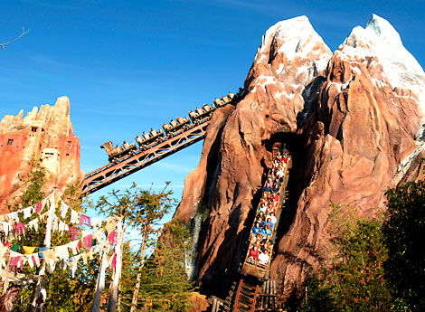 Exclusive Behind-the-Scenes Look at Disney's Expedition Everest ...