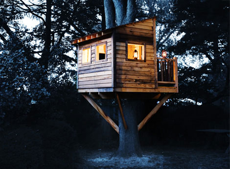 Simple Tree House Plans For Kids Most read
