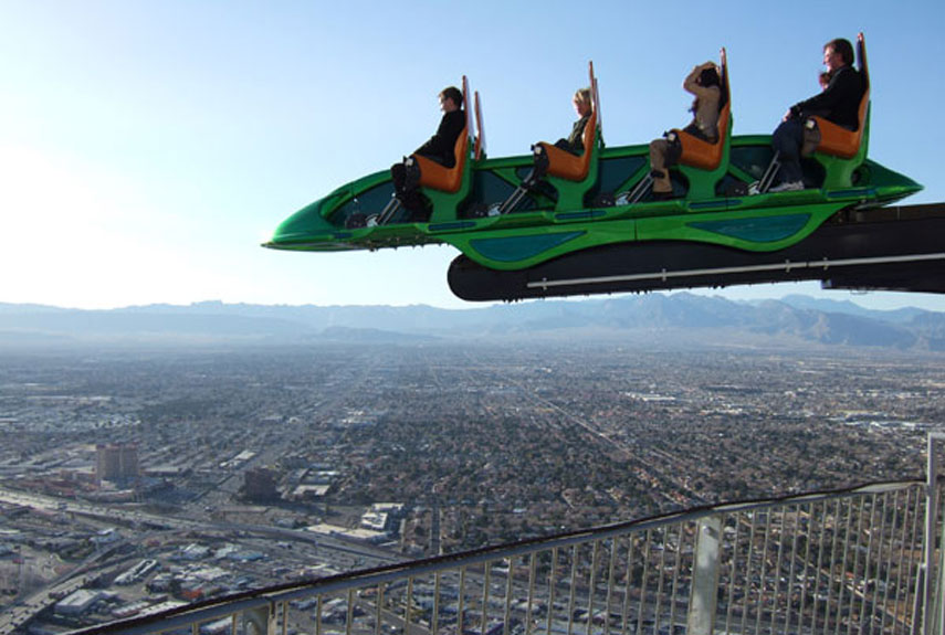 Stratosphere Roller Coaster Accident The world's 30 strangest rides