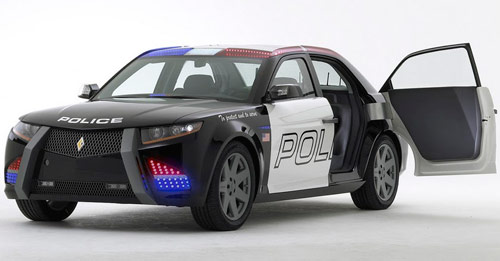 Carbon Motors E7 & 5 New Police Cars to Replace the Ford Crown Victoria - Cop Cars markmcfarlin.com