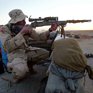 The U.S. Sniper's More Accurate, Quieter Rifle - M24 ...