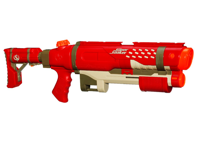 nerf squirt guns Nerf Super Soaker Thunderstorm Water Gun Review - YouTube.