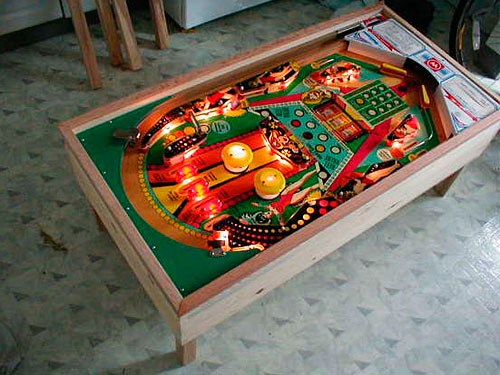 pinball machine mod pictures pinball mods. Black Bedroom Furniture Sets. Home Design Ideas
