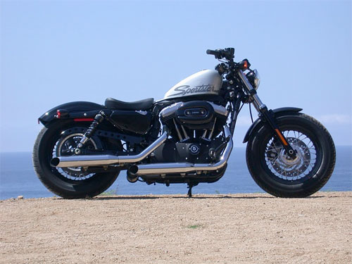 2010 harley-davidson forty-eight review - harley-davidson test ride