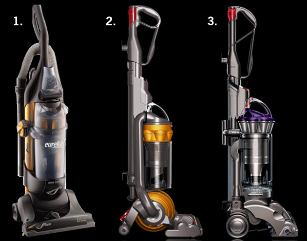 Bagless Upright Vacuum Cleaners Eureka Airspeed Dyson