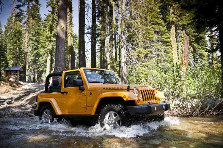 2012 Jeep Wrangler Test Drive Rubicon Trail Test