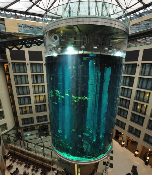 The world 39 s 18 strangest elevators for Fish hotel tank