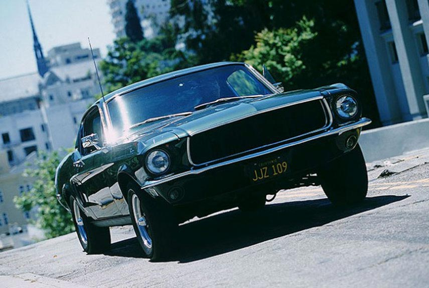 Top Movie Cars Of All Time