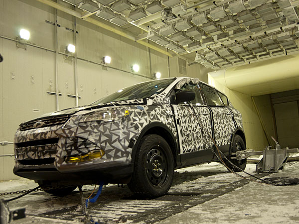 Ford S Wintry Wind Tunnel For Cold Weather Torture Tests