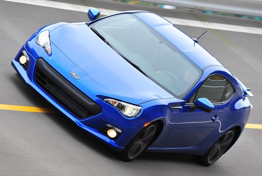 2013 Subaru BRZ Test Drive