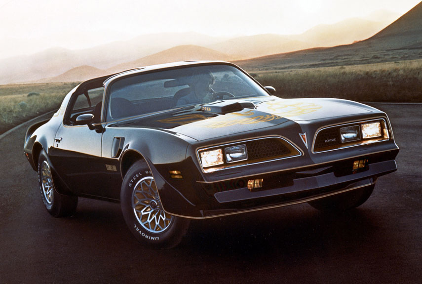 5 1978 pontiac firebird trans am