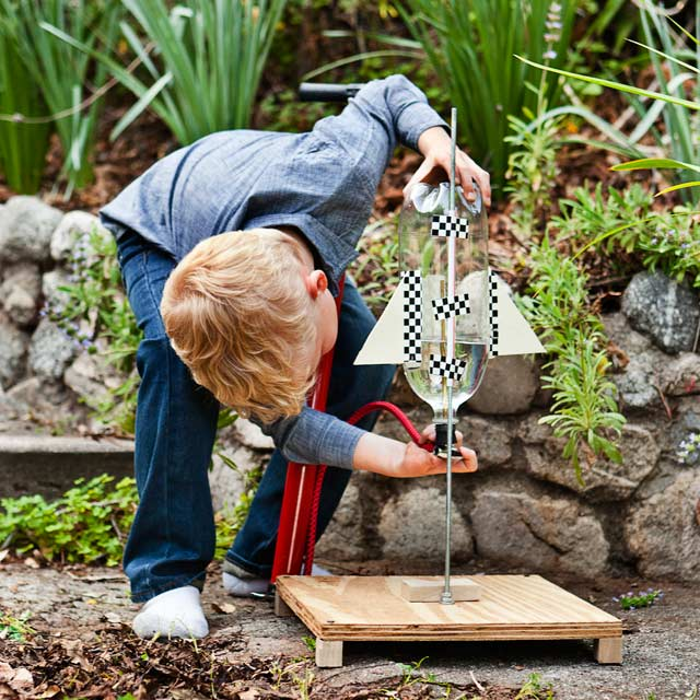 Early Adopter: Build This Backyard Water Rocket