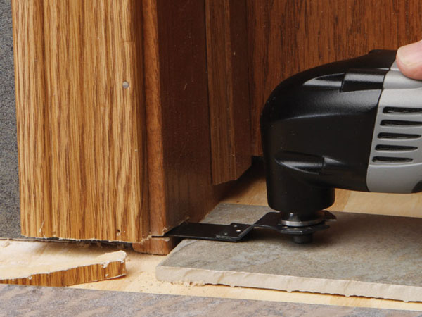 10 Jobs You Can Do With A Multitool. Trim Door ...