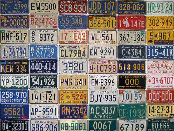 10 classic license plates we want on our cars