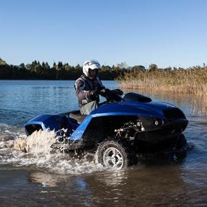 We Test the Gibbs Quadski Amphibious ATV  Gibbs Quadski