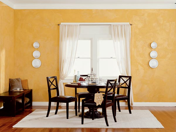 painting plaster wallsForget Ordinary Paint Use These 8 Stylish Faux Finishes