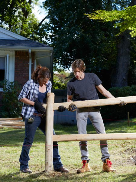 How To Build A Simple Split Rail Fence