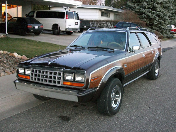 The AMC Eagle used a proved Jeep 4x4 system that made it unique among car  offerings in the 1980s. It also foreshadowed the SUV craze of the 1990s and  ... - 5 Cars That Defined The Woodie—and The 5 Worst Woodies Ever Made