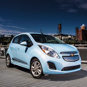 2014 chevrolet spark ev test drive. Black Bedroom Furniture Sets. Home Design Ideas