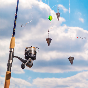 the 3 rigs you need for surf fishing, Fish Finder