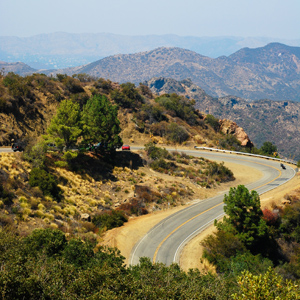 Motorcycling Mulholland Drive & Highway