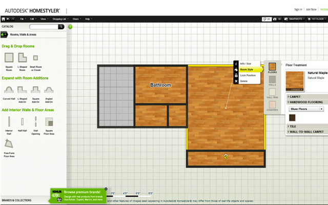 Getting to know autodesk homestyler 3d floor planner for Homestyler 3d