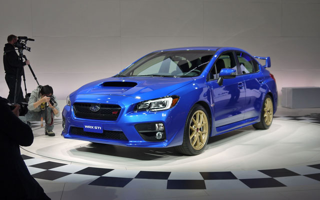 detroit 2014 subaru impreza wrx sti. Black Bedroom Furniture Sets. Home Design Ideas
