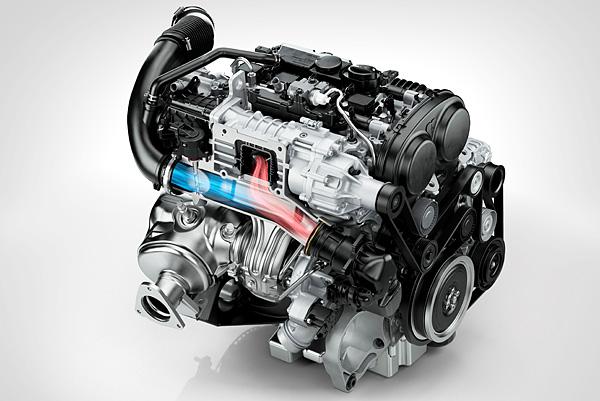 volvo combines turbocharging supercharging