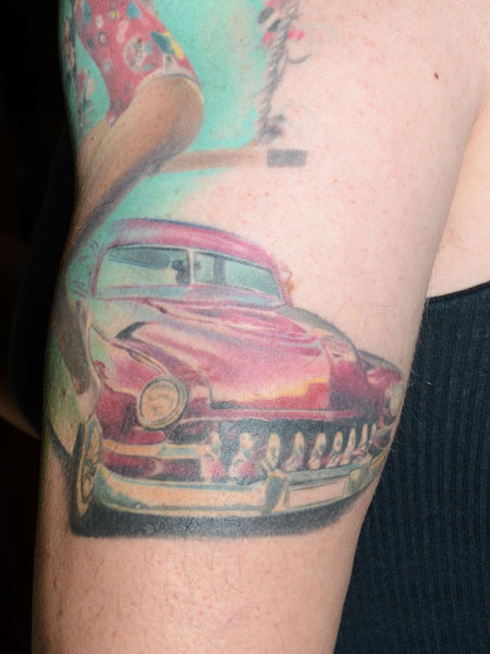 sovie tattoo cool cars - photo #6