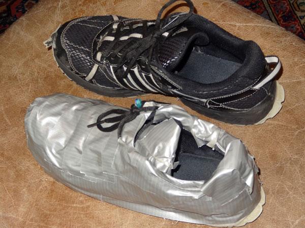 Duct Tape Uses Shoe Repair