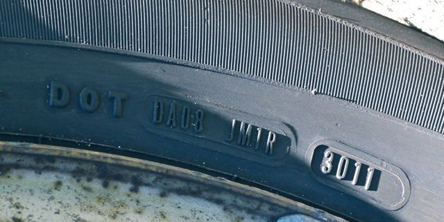 How to Find Out How Old Your Tires Are