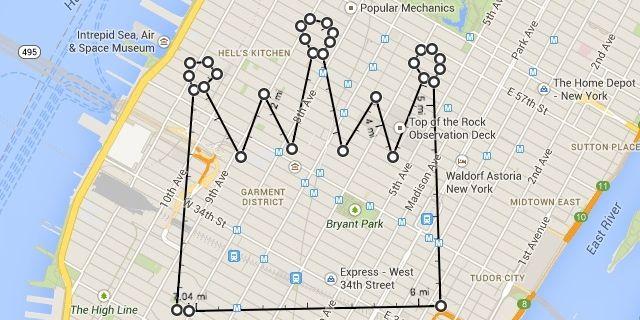 Google Maps Now Lets You Measure Distances—and Doodle