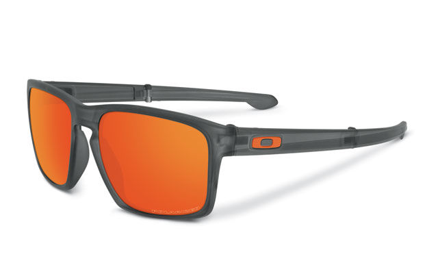 oakley glasses design  another october release, the new sliver f, is oakley's first foldable frame. the stems fold in on themselves with a spring loaded piston hinge instead of