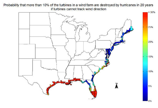 Will Hurricanes Wipe Out Offshore Wind Farms - Map of wind farms in us