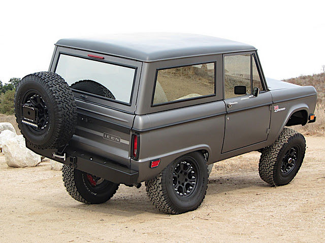 2011 Icon Bronco We Test Drive This Reimagined Legend