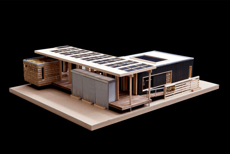 Building scale model homes