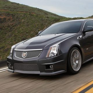 cadillacs halo car aims its sights on buyers of european high performance sporting cars with