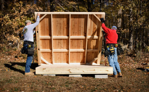 Shed Kits How To Build A Shed From A Kit