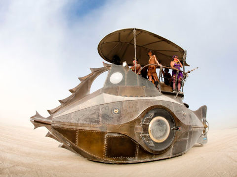 10 Wild Art Cars From Burning Man
