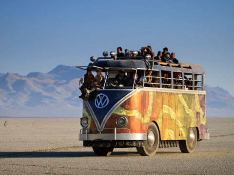 10 wild art cars from burning man