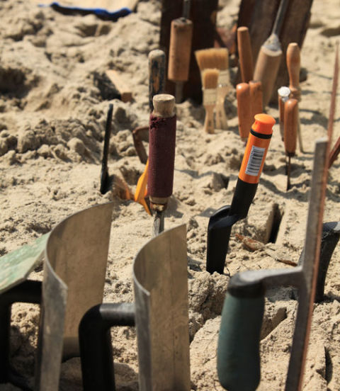 if this is the year you get serious about sandcastle building then you need the right tools so pm asked the professionals how to assemble the ideal