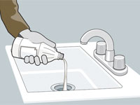 Bathroom Sinks Backing Up drains 101: how to clear drains, prevent smells and use a