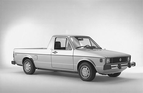 One for the truck lovers vw rabbit pickup