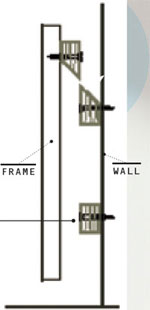 A more reliable method is to use the time-honored French cleat a system that uses two beveled lengths of wood. The top block is screwed to the hanging ...  sc 1 st  Popular Mechanics : cleat wiring system - yogabreezes.com