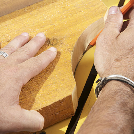1. Prep the Boards - How To Design And Cut Signature Rafter Tails For A Pergola