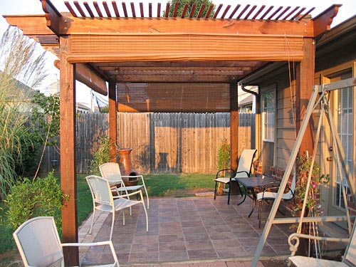 patio partition - Arbor Designs Ideas