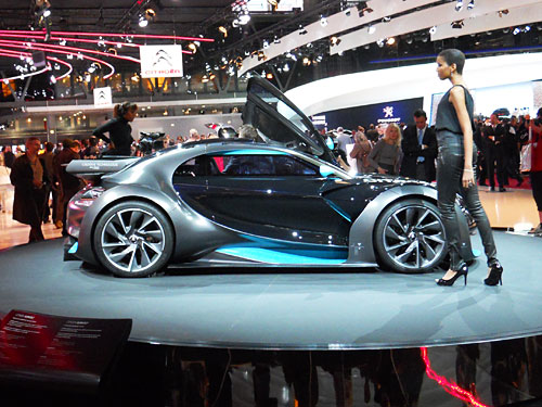 Electric Car Reviews And Pictures Paris Motor Show Hybrid