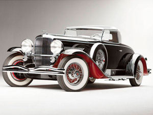Price Paid: $10,340,000<br /><br /> Sold: August 2011 at Monterey, California<br /><br /> Wealthy San Francisco eccentric George Whittell Jr. commissioned this car, a variant of the Model J that was introduced in 1928, after Duesenberg started building passenger cars in 1921 following a win at the French Grand Prix. The Model J is a big car, with a special Frank Hershey-designed and Murphy of Pasadena-constructed body built on a truck-type ladder frame, and many owners have told us they drive like trucks, too.<br /><br /> Lycoming, today an aircraft engine builder, built the 6.9-liter straight-eight twin-cam engine. Clark Gable, Jim Cagney, and royalty owned Model Js. Fewer than 500 were built by 1937, when the company died.