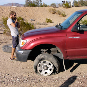 What To Do When Your Car Gets a Blowout